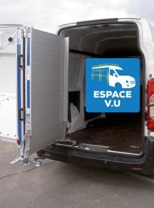 Rampe de chargement repliable en aluminium par ESPACE V.U à Bordeaux en GIronde